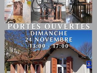 24.11.2019 |  PORTES OUVERTES DE L'ATELIER DE GRAVURE