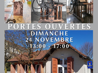24.11.2019    PORTES OUVERTES DE L'ATELIER DE GRAVURE
