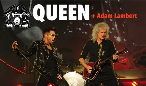 Queen and Adam Lamberts