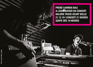 21.12.2019 Souper - concert |  Prune Carmen Diaz & Louis Jucker