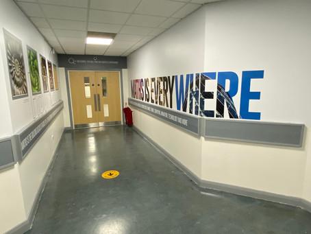 The Idea Engine brightening up school corridors