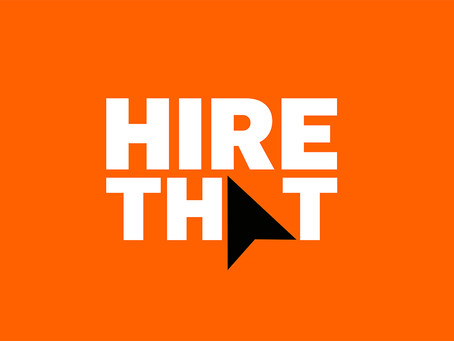 Brand development for HIRE THAT.