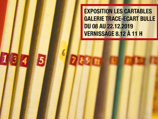 08-22.12.2019 | LES CARTABLES | Exposition collective