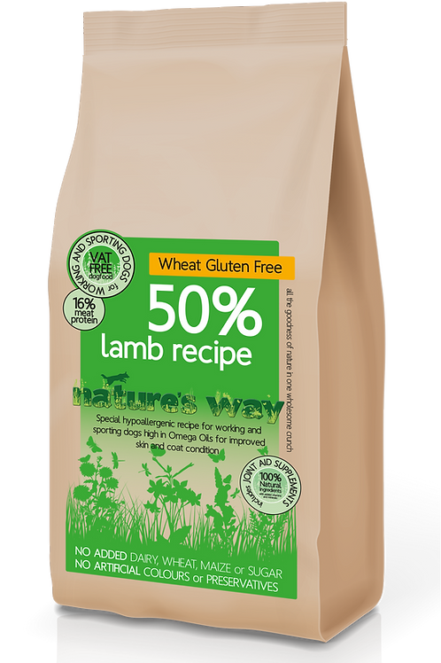 Nature's Way 50% Lamb Recipe
