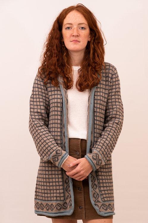 Frauenstrickmantel aus Alpakawolle   Strickkleidung   Alpakita Berlin