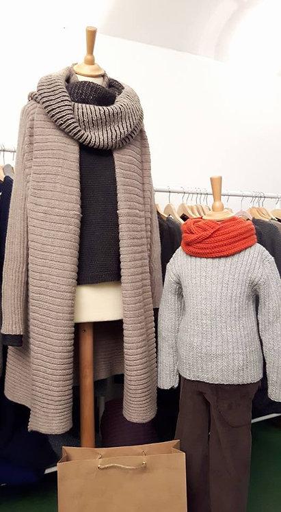 Loop Schal für Kinder aus Alpakawolle   Kinderstrickkleidung   Alpakita Berlin