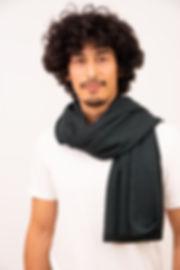 eleganter Schal aus Alpakawolle