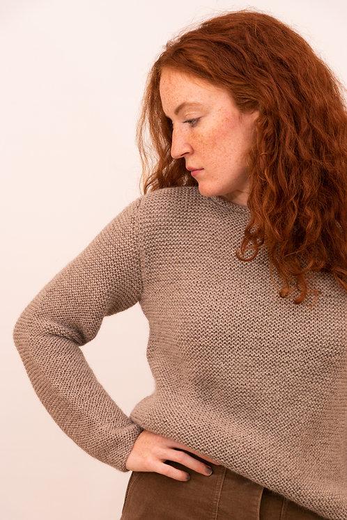 Strickpullover FRITZ MAMA für Frauen mit OEKO TEX Alpakawolle