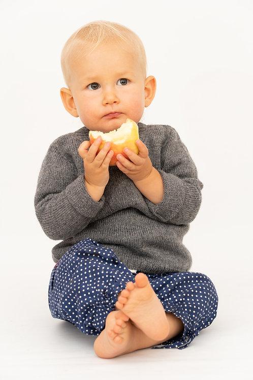Babypullover aus Alpakawolle | Babykleidung von Alpakita Handarbeit