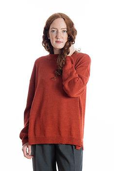Frauenstrickpullover SUSANNE aus dem Naturprodukt Alpaka-Wolle