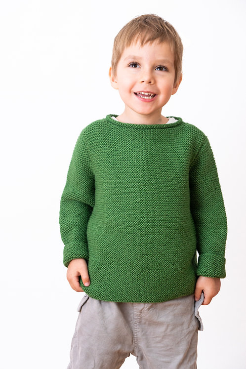 Strickmode für Kinder | wollig warmer Alpakapullover | Alpakita Handarbeit