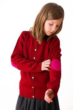 Strickjacke aus Alpakawolle für Mädchen - CLASICO CODITO