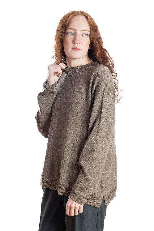 eleganter Wollpullover für Frauen aus feinster Alpakawolle