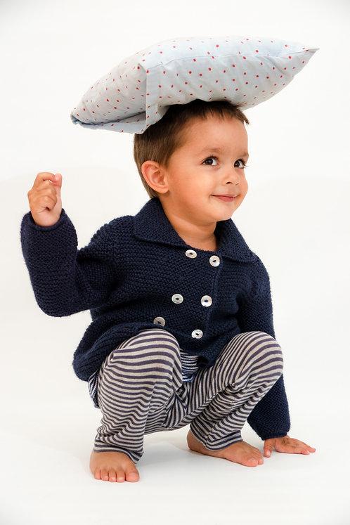 Kinderstrickjacke ESTHER aus Alpaka