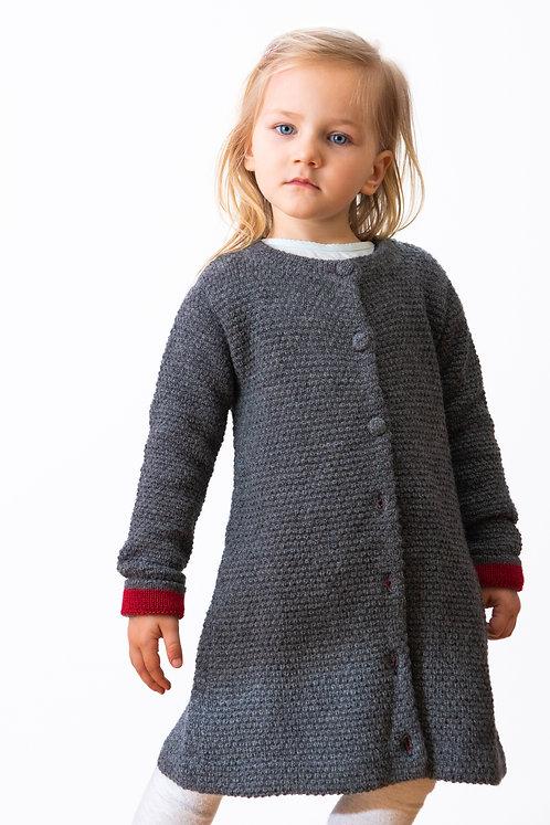 Elegante Kindermode für Mädchen aus Alpaka Wolle. Kinderkleidung von Alpakita Berlin