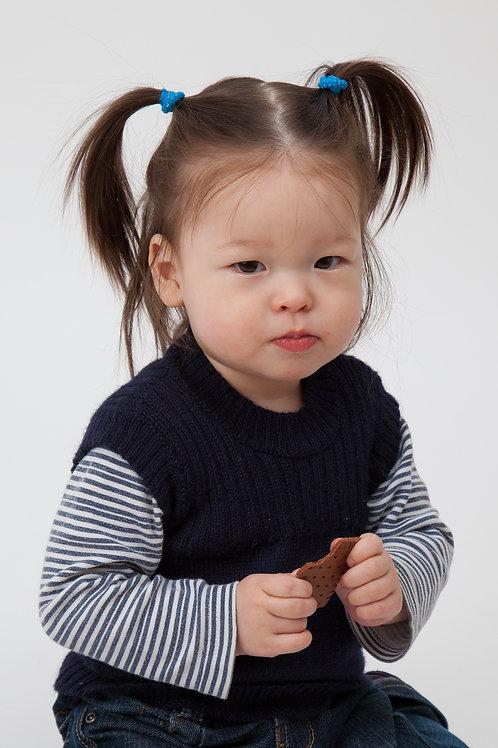Babykleidung || Babypullunder aus Alpakawolle || Babywelt Berlin || Strickmode || Handarbeit