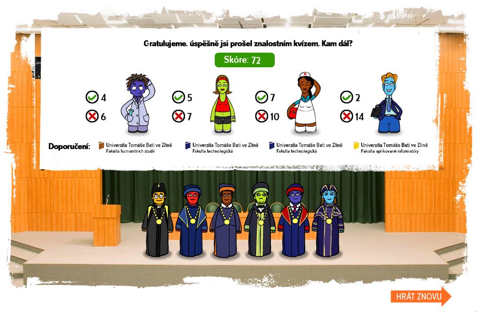 propagační hra - online kvíz