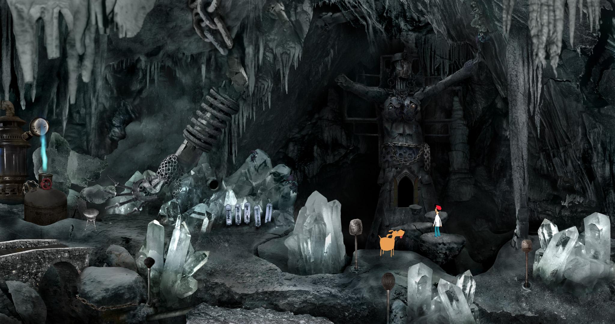 tvorba počítačových her - adventura