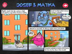 vzdělávací hra - interaktivní komiks