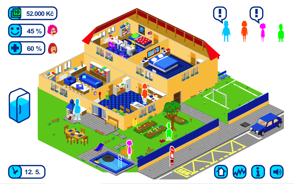edukativní online hra