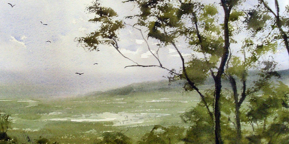 Le paysage à l'aquarelle - weekend 17-18/04/2021