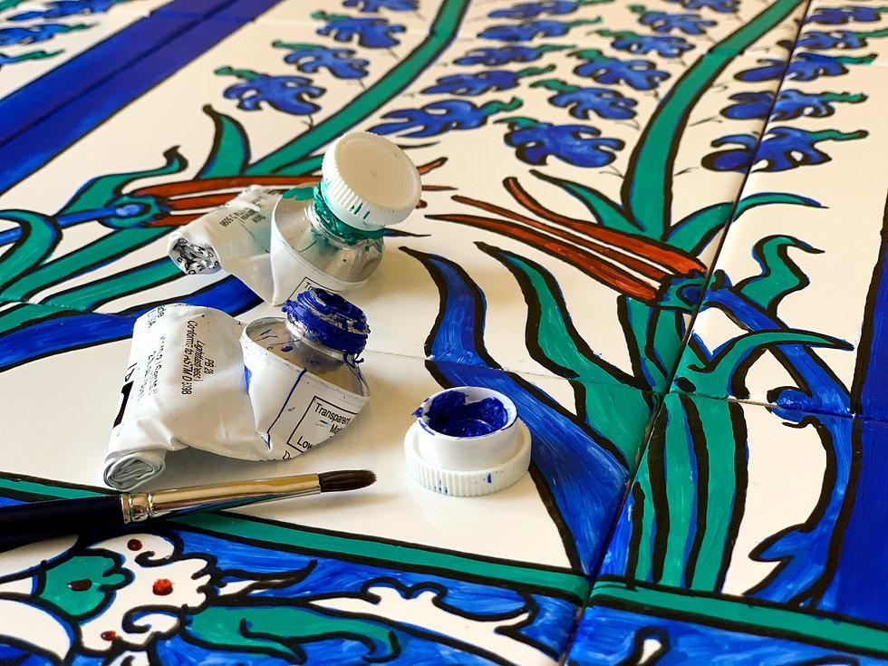 Mestan Tekin et la production de céramiques ottomanes
