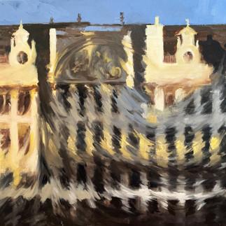 Grand Place, Ombre et Mouvements