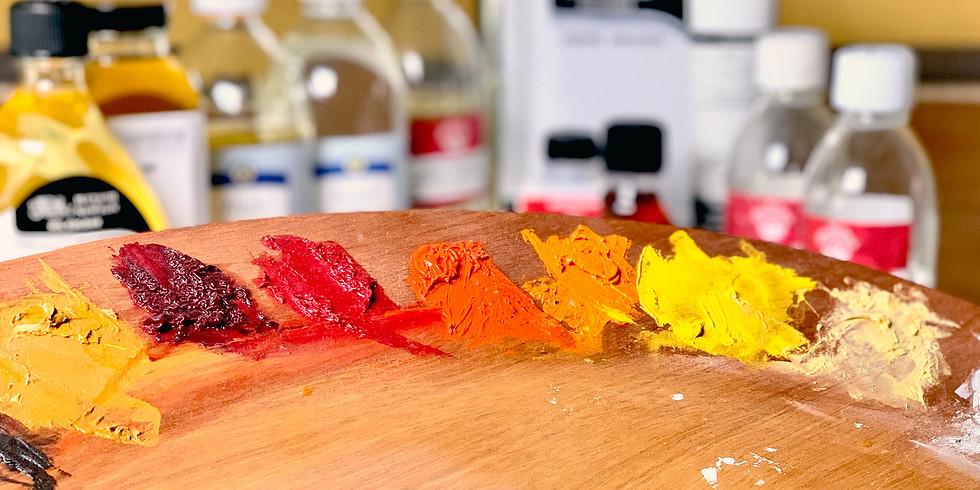La couleur et les mélanges en peinture  4/12/2020