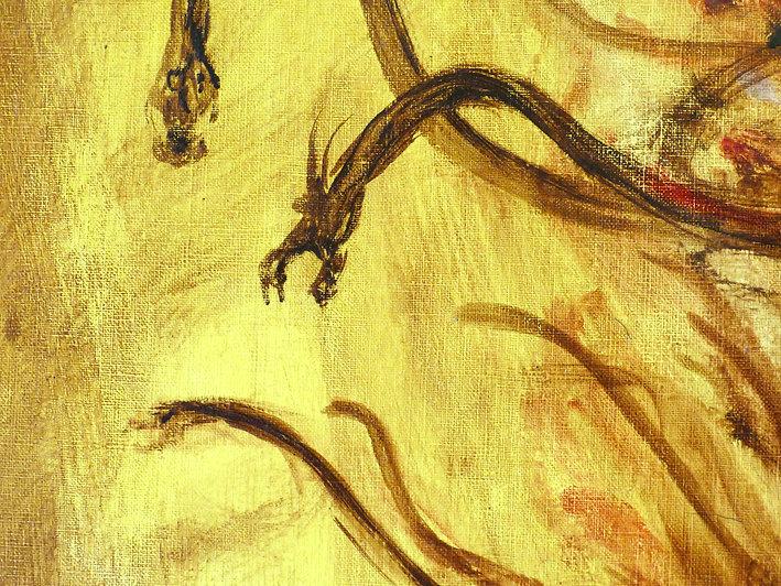 Mestan Tekin - La Tour Aux Serpents - Collection privée