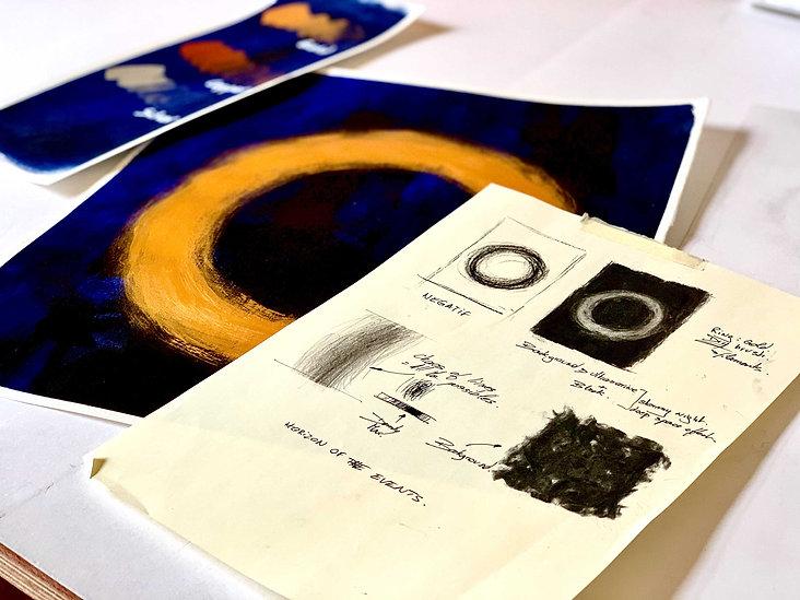Mestan Tekin Horizon Des Événements - Collection privée