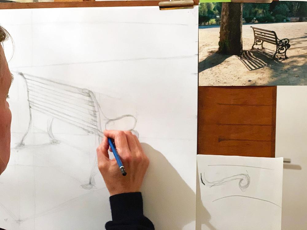 Atelier Mestan Tekin dessin