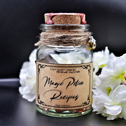 Magic Potion Recipes   Message Bottle   Flaschenpost   Bookish
