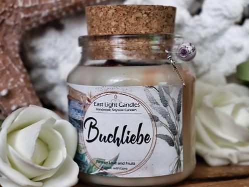 Buchliebe | Bookish Candle | Buchkerze | Bookish Merch | Duftkerzen