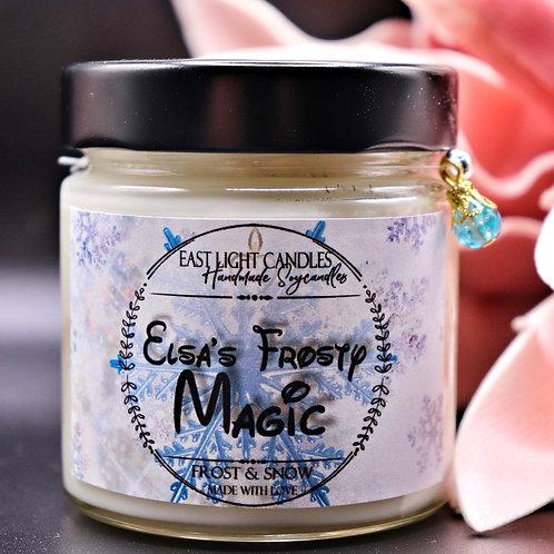 Elsas frosty Magic | Disney inspiriert | Candle | Buchkerze | Scented Candle