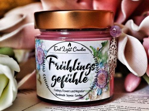 Frühlingsgefühle   Candle   Buchkerze   Scented Candle