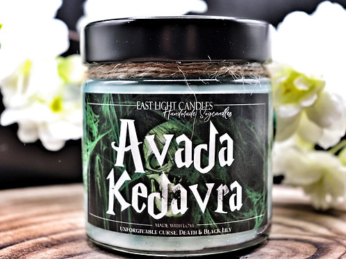 Avada Kedrava  | Candle | Buchkerze | Scented Candle | Soywax Candle