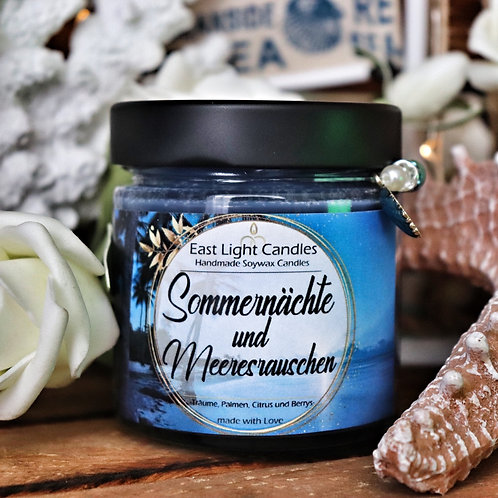 Sommernächte....| Candle | Buchkerze | Scented Candle | Soywax Candle
