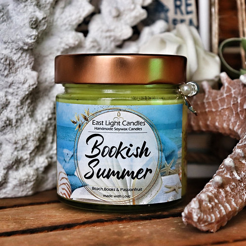 Bookish Summer| Candle | Buchkerze | Scented Candle | Soywax Candle
