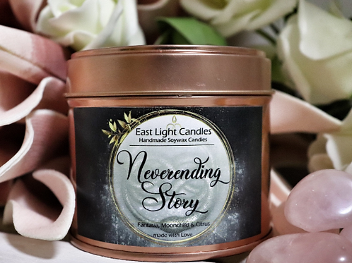 Neverending Story | die unendliche Geschichte | Organic Soy Wax Candle | Bookish