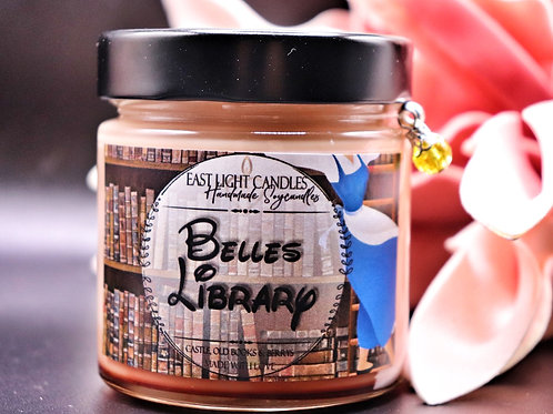 Belles Library  Disney inspiriert   Candle   Buchkerze   Scented Candle