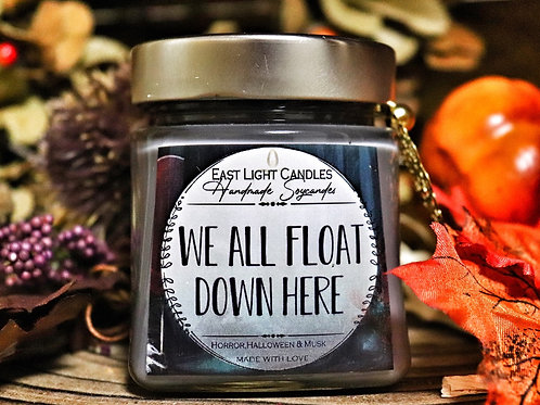 We all float down here | Bookish Candle | Herbst | Halloween | Buchkerze |