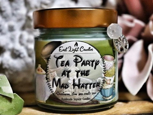 Tea party at the Mad Hatter   New Disney inspired   Disney   Bookish Candle