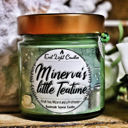 MINERVAS LITTLE TEATIME | Organic Soy Wax Candle | Bookish Candle