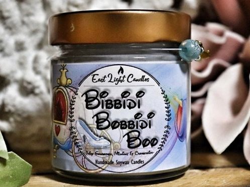 Bibbidi Bobbidi Boo   New Disney inspired   Disney   Bookish Candle   Duftkerze