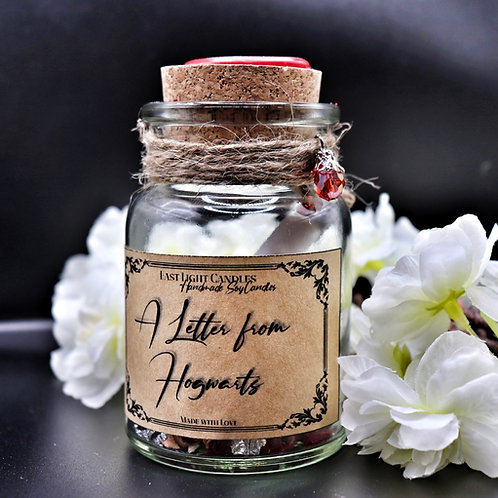 A Letter from Hogwarts  Message Bottle   Flaschenpost   Bookish