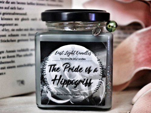 The Pride of a Hippogriff | Magical Creatures | Glittercandle | Organic Soy Wax