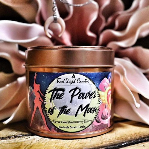 The Power of the Moon | Bookish Candle | Duftkerze| Buchkerze | Scented Candle
