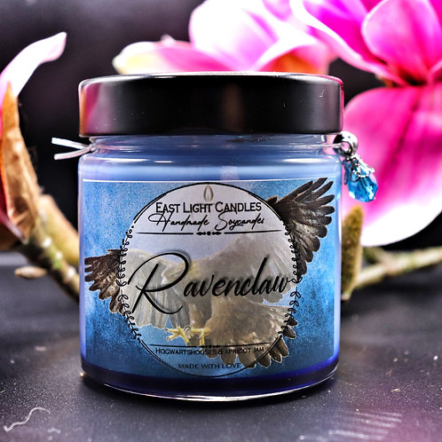 RAVENCLAW | Harry Potter Hogwarts Houses | Glittercandle | Organic Soy Wax Candl