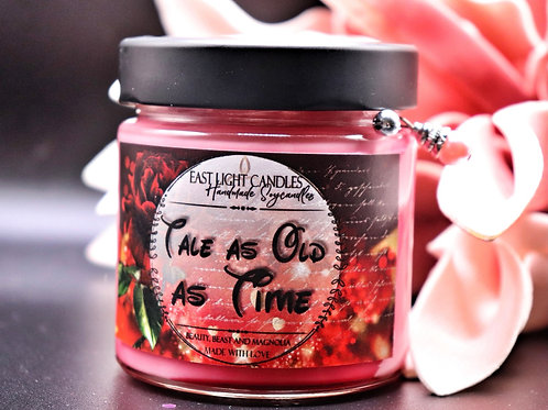 Tale as old as time| Disney inspiriert | Candle | Buchkerze | Scented Candle