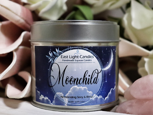Moonchild   The Neverending Story   Organic Soy Wax Candle